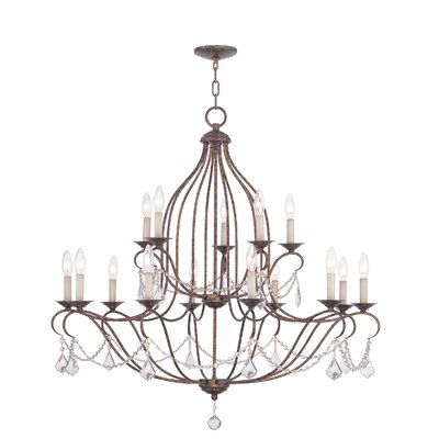 Livex Lighting Chesterfield 15 Light Chandelier