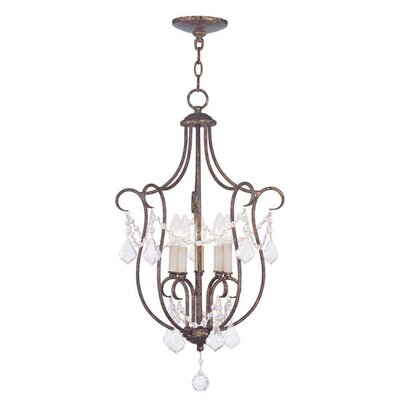 Chesterfield 5 Light Foyer Pendant
