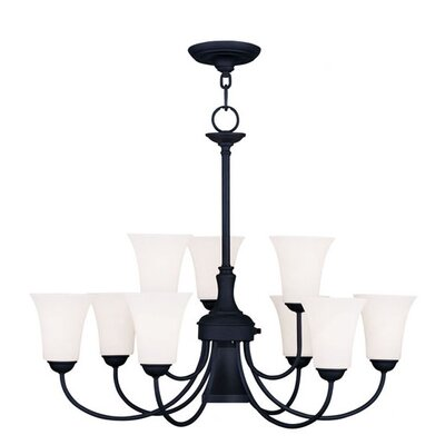 Livex Lighting Ridgedale 10 Light Chandelier