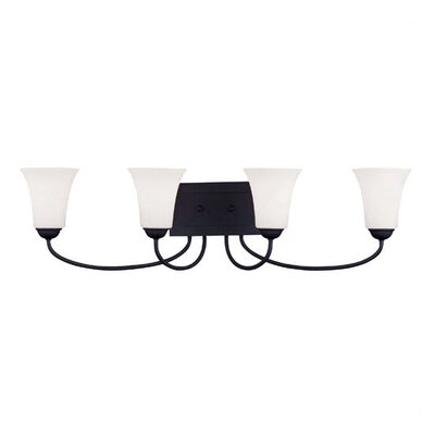 Livex Lighting Ridgedale 4 Light Bath Vanity Light