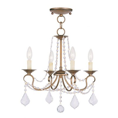 Livex Lighting Pennington 4 Light Pendant
