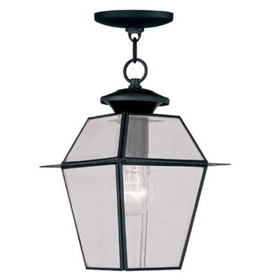 Livex Lighting Westover 1 Light Outdoor Hanging Lantern