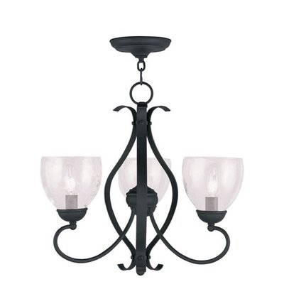 Brookside 3 Light Chandelier