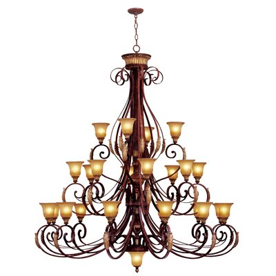Livex Lighting Villa Verona 24 Light Chandelier