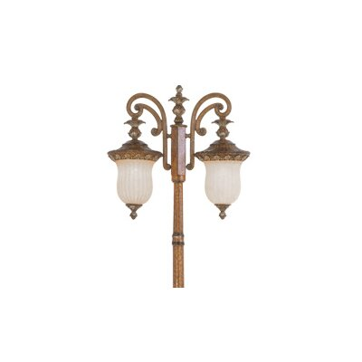 Livex Lighting Savannah 2 Light Outdoor Post Lantern