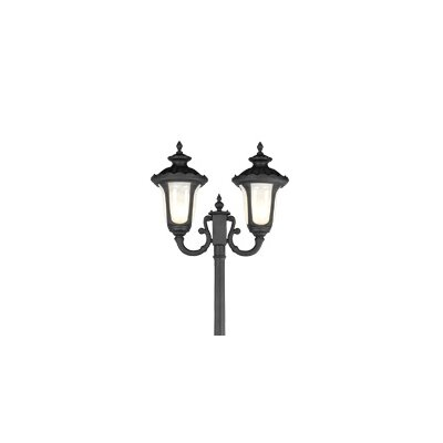 Livex Lighting Oxford 2 Light Outdoor Post Lantern
