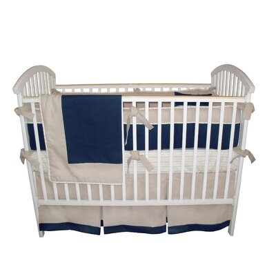 Bebe Chic Graham 3 Piece Crib Bedding Set