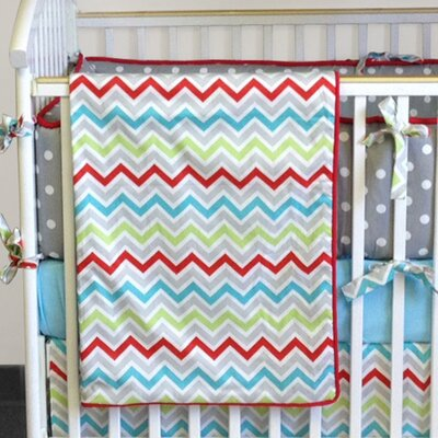 Bebe Chic Calypso 4 Piece Crib Bedding Collection