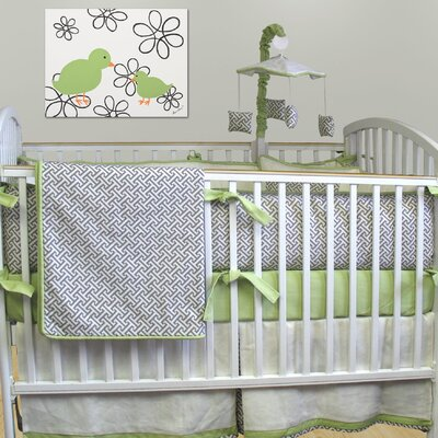 Metro 3 Piece Crib Bedding Collection