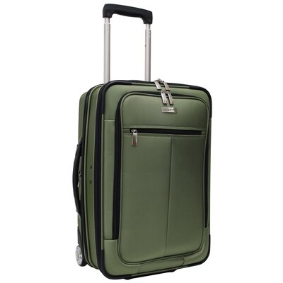 "Traveler's Choice Sienna 21"" Hybrid Hardsided Rolling Carry On Garment Bag"