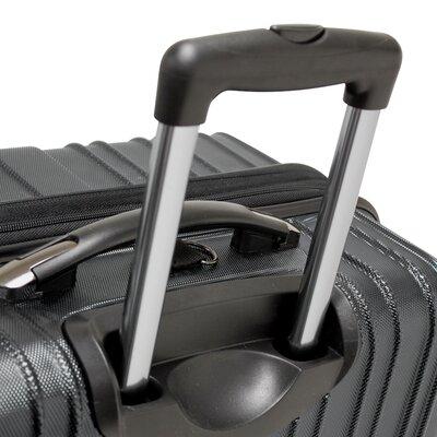 Traveler's Choice Tasmania 3 Piece Hardsided Expandable Luggage Set