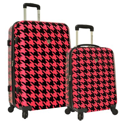 Traveler's Choice 2 Piece Hardsided Expandable Luggage Set