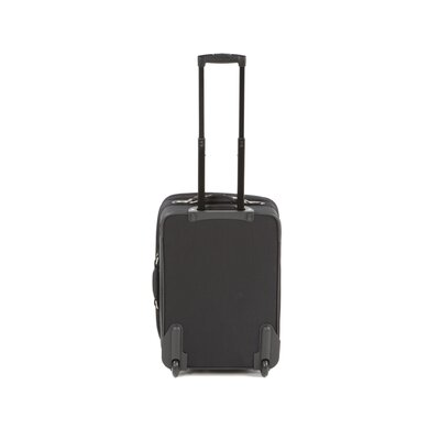 "Traveler's Choice Voyager 21"" Wheeled Upright in Black"