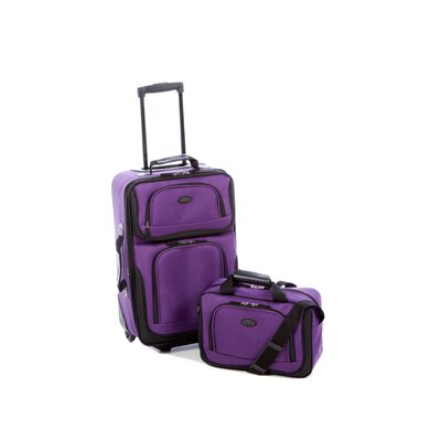 Traveler's Choice Rio 2 Piece Expandable Luggage Set