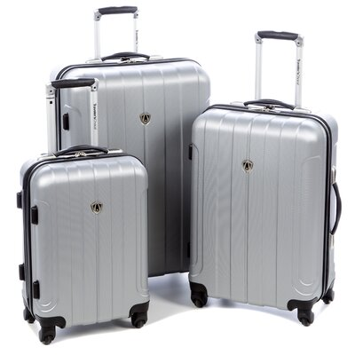 Traveler's Choice Cambridge 3 Piece Hardshell Spinner Luggage Set