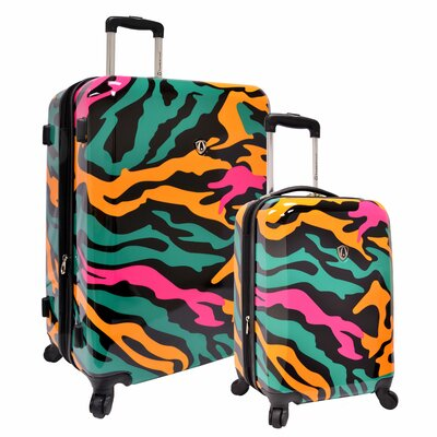 Traveler's Choice 2 Piece Hardside Expandable Luggage Set