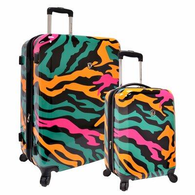 Traveler's Choice 2 Piece Hardside Expandable Luggage Set