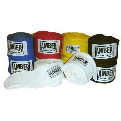 "Amber Sporting Goods 180"" Elastic Handwraps in Flag Color"