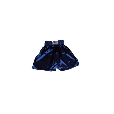 Amber Sporting Goods Boys Boxing Shorts in Solid Blue