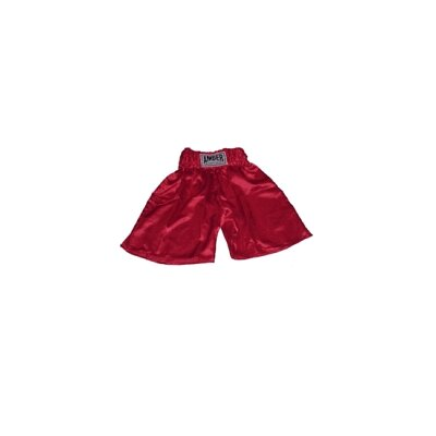 Amber Sporting Goods Boxing Shorts in Solid Red