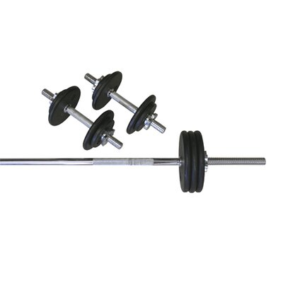 Weight set with Threaded Bar