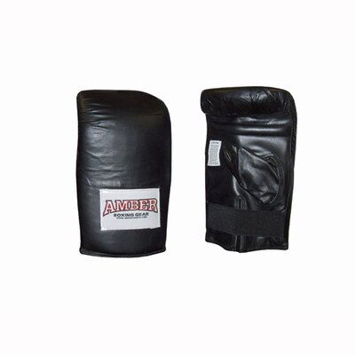 Deluxe Boxing Bag Gloves in Black