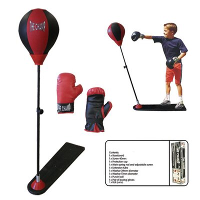 Amber Sporting Goods Deluxe Boxing Punch Stand Set