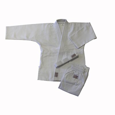 Amber Sporting Goods Judo Single Weave White Uniform (Size 9)