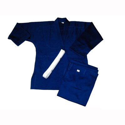 Amber Sporting Goods Judo Single Weave Blue Uniform (Size 4)