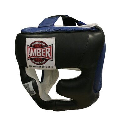 Amber Sporting Goods Large Gel Full Face Training Headgear