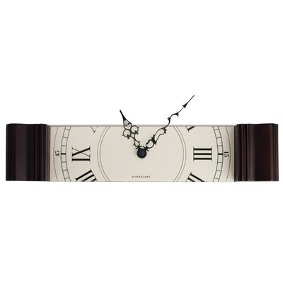 Kikkerland Sliced Grandfather Wall Clock