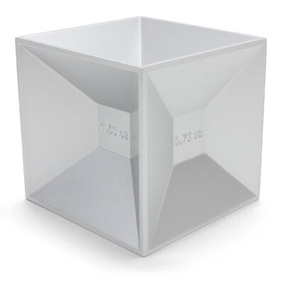 Kikkerland Kitchen and bar Jigger Aluminum Cube