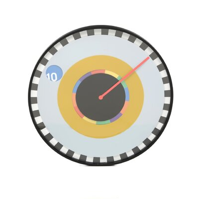 Kikkerland Sprocket Wall Clock