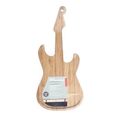 Cutting Board Bamboo Guitar