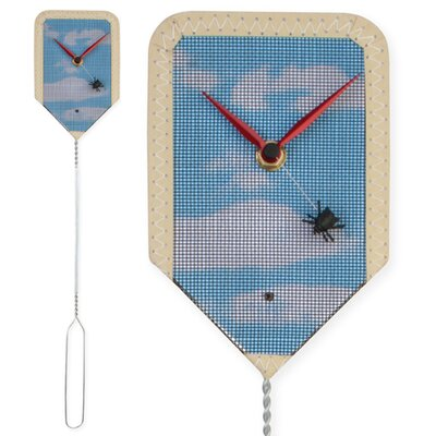 Kikkerland Fly Wall Clock