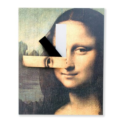 Kikkerland Mona Lisa Wall Clock