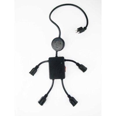 Kikkerland Electro Man Cable 28'