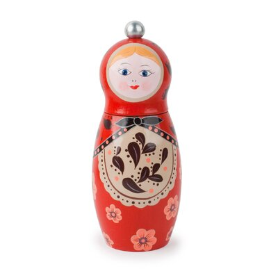 Kikkerland Babushka Pepper Mill