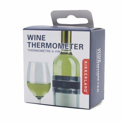 Kikkerland Wine Bottle Thermometer