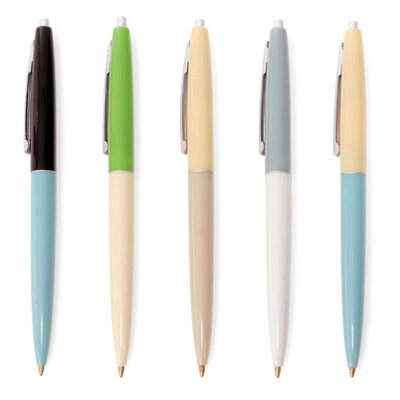 Kikkerland Retro Pens (Set of 5)