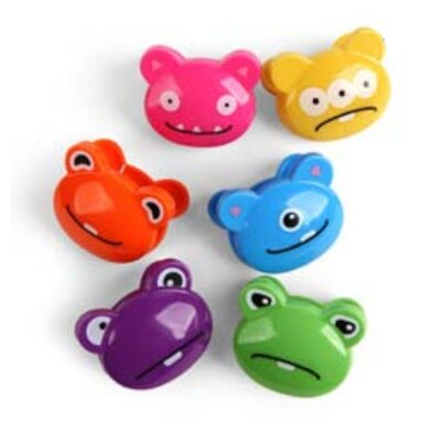 Kikkerland Bag Clips (Set of 6)