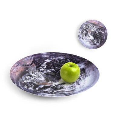 Kikkerland Celestial Serving Bowl