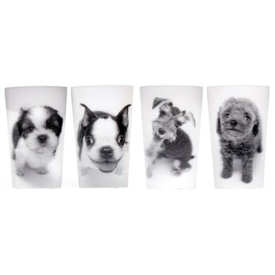 Kikkerland Lenticular Cups (Set of 4)