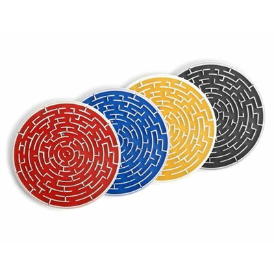 Kikkerland Roll-A-Coasters (Set of 4)