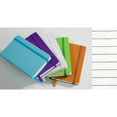 Kikkerland Hard Cover Pocket Ruled Notebook