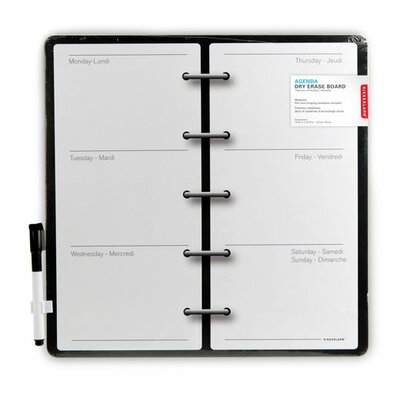 Kikkerland Magnetic Wipe Board