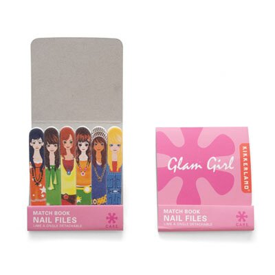 Kikkerland Glam Girl Matchbook Emery Files