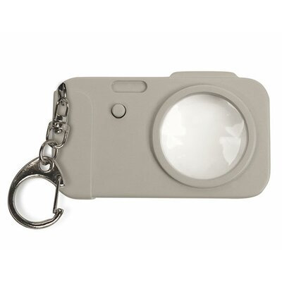 Kikkerland Camera Mini LED Magnifier
