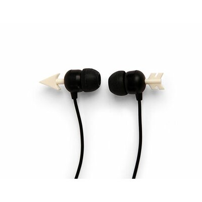 Kikkerland Arrow Earbuds