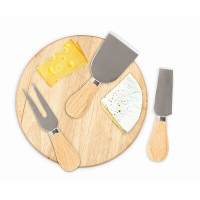 Kikkerland Cheese Please Cheese Set